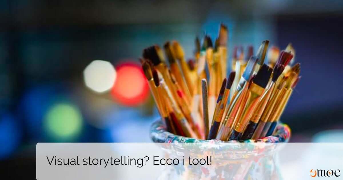 Quali sono i migliori tool per fare visual storytelling